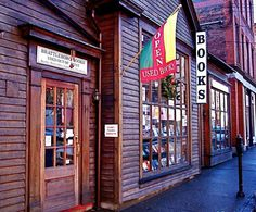 Must go here! Brattleboro Books in Brattleboro, Vermont