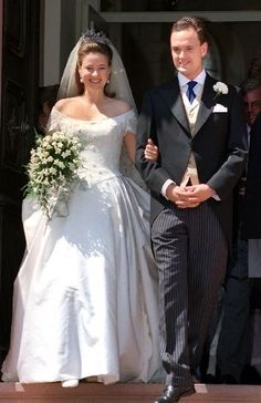 Marriage of  Irina de Hesse-Cassel , Granddaughter of Queen Sophie de Grèce, and Count Alexander de Schönburg-Glauchau le 29 mai 1999
