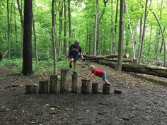 Inside Outside Michiana: Russ Nature Preserve Playscape! Kids Backyard Playground, Natural Playground, Backyard For Kids, Outdoor Learning Spaces, Kids Outdoor Play, Outdoor Education, Natural Play Spaces, Outdoor Play Structures, Outdoor Classroom