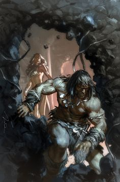 King Conan by Gerald Parel