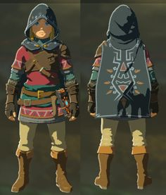 This Page Contains A Guide On The Hylian Armor Set In The
