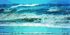 'Nordseewellen' von Dirk h. Wendt bei artflakes.com als Poster oder Kunstdruck $19.41