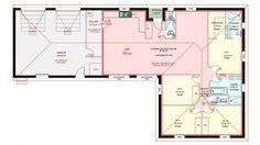 Maisons plain pied 4 chambres de 120 m² construite par Demeures Familiales