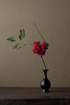 Ikebana by Toshiro Kawase, Japan Ikebana Arrangements, Ikebana Flower Arrangement, Floral Arrangements, Bonsai, Japanese Flowers, Japanese Art, Ikebana Sogetsu, Arte Floral, Wabi Sabi