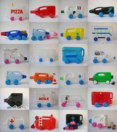 Amazing Ways To Upcycle Plastic Bottles Recycled Crafts Kids, Recycled Art, Plastic Bottle Crafts, Recycle Plastic Bottles, Plastic Canvas, Plastik Recycling, Diy For Kids, Crafts For Kids, Recycled Crafts