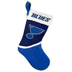 St Louis Blues 2015 NHL Hockey Team Logo Basic Holiday Stocking
