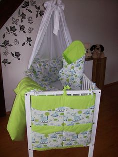 5 DÍLNÁ SADA DO DĚTSKÉ POSTÝLKY. KAPSÁŘ , POVLEČENÍ, MANTINEL, ZAVINOVAČKA Ideas Para, Toddler Bed, Projects To Try, Baby Rooms, Furniture, Home Decor, Baby Layette, Cute Stuff, Learning