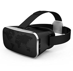 """3D VR Glasses,CASEPLAY 3D Virtual Reality Headset Adjust Cardboard Movie Video Game Box for iPhone 7/7plus/6s/6 plus/6/5s/5 Samsung Galaxy s5/s6/s7/note4/note5 and Other 4.0""""-6.0"""" smartphones -- Awesome products selected by Anna Churchill"""