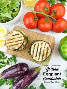 Vegan Sandwich Recipes, Vegan Sandwiches, Healthy Recipes, Healthy Meals, Free Recipes, Tofu Dishes, Vegan Side Dishes, Pasta Dishes, Eggplant Sandwich