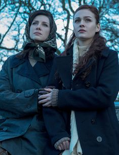 Claire and Brianna #Outlander 2.13 Dragonfly In Amber