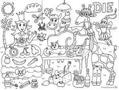natur wald herbst tiere malvorlage kindergarten natur erkunden im kindergarten tiere. Black Bedroom Furniture Sets. Home Design Ideas