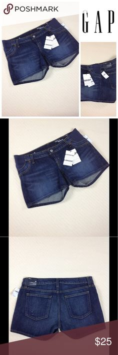 e2a3d0fffca46 NWT GAP Maternity Shorts Size 2 New with tags maternity shorts. GAP Shorts  Jean Shorts