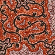 Janganpa Jukurrpa (Brush-tail Possum Dreaming)- Mawurrji by Stephanie Napurrurla Nelson Australian Aboriginals, Print Ideas, Indigenous Art, Aboriginal Art, Creative Inspiration, Colours, Colorful, Graphic Design, Drawings