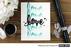 Love You So Much by Clare Prezzia for Hero Arts