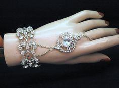 Gatsby Bracelet Bridal Bracelet Wedding by AyansiWeddingDesigns