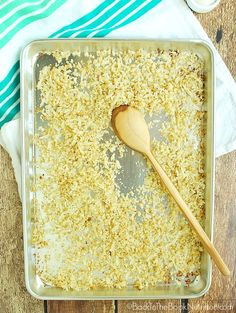 Whether you're grain free or just trying to eat more veggies, this delicious roasted cauliflower rice is a healthy alternative to white rice!   Back To The Book Nutrition