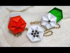 Easy DIY star box! Origami Hexagonal Box (Non Modular) - easy way! Ideas for Christmas - YouTube