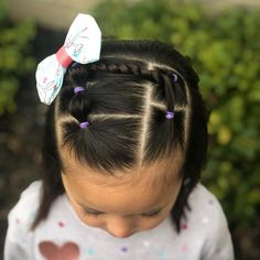 Beautiful Braids and Baby Hairs - 20 Eye-Catching Ways to Style Dookie Braids - The Trending Hairstyle Easy Toddler Hairstyles, Girls Hairdos, Cute Little Girl Hairstyles, Girls Natural Hairstyles, Cute Girls Hairstyles, Short Hairstyles, Teenage Hairstyles, Wedding Hairstyles, Beautiful Braids