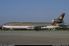 Royal Jordanian Airlines McDonnell Douglas MD-11 Mcdonnell Douglas Md 11, Mcdonald Douglas, Royal Jordanian, Douglas Aircraft, Old Planes, Air Photo, Civil Aviation, World Pictures, Photo Search