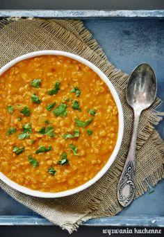 Indyjska zupa Dahl | Wyzwania Kuchenne What To Cook, Oreo, Indian, Cooking, Ethnic Recipes, Food, Diet, Kitchen, Kochen