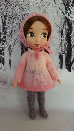 handmade Outfit for Disney Animators 15 doll pink by InaPlusAlina