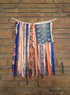Denver Bronco Rustic Flag, Denver Bronco Flag, Peyton Manning, Denver Football, Broncos, Denver Bronco House Decor, Bronco Nation