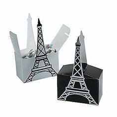 Eiffel Tower Favor Boxes