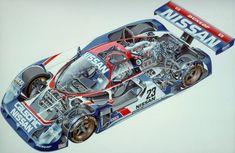Nissan IMSA GTP complete