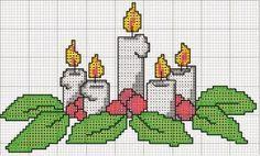 Cross Stitch Christmas Cards, Xmas Cross Stitch, Cross Stitch Baby, Cross Stitch Flowers, Christmas Cross, Cross Stitch Charts, Cross Stitching, Cross Stitch Embroidery, Cross Stitch Patterns