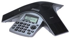 Polycom SoundStation Duo (2200-19000-001)  Whether your conference rooms use analog lines today or you've already migrated to Voice over IP (VoIP) telephony, the SoundStation Duo phone delivers the ultimate deployment flexibility for small to midsize rooms. Crystal clear conversations featuring HD Voice and echo cancellation. Powered with included Power Injection Module (PIM) when used in PSTN mode or dual PSTN/SIP mode