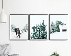 Picasso Art Set Of 3 Prints Woman Face Art Picasso Sketch Camping And Hiking, Moose Decor, Christmas Wall Art, Christmas Christmas, Simple Christmas, Christmas Ideas, Woodland Nursery Decor, Fancy, Printable Wall Art