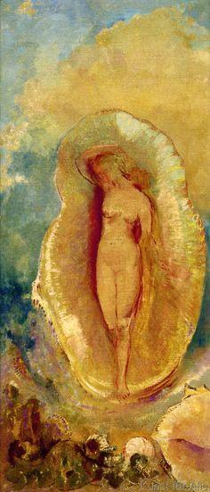 Odilon Redon - La Naissance de Vénus