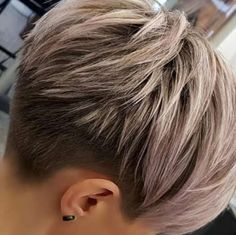Today we have the most stylish 86 Cute Short Pixie Haircuts. We claim that you have never seen such elegant and eye-catching short hairstyles before. Pixie haircut, of course, offers a lot of options for the hair of the ladies'… Continue Reading → Short Hairstyles For Thick Hair, Short Wavy Hair, Short Pixie Haircuts, Pixie Hairstyles, Hairstyles With Bangs, Curly Hair Styles, Layered Hairstyles, Hairstyle Ideas, Black Hairstyles