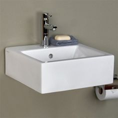 The Wyatt 24 inch bathroom console sink from DXV is a ...