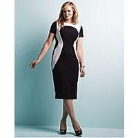 edit Illusion Dress - Large Size Clothing - www.plussizedglamour.co.uk