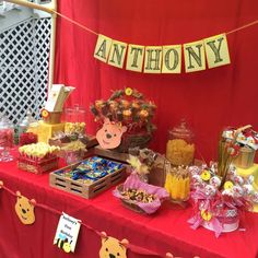 Winnie the Pooh Birthday Party Ideas | Photo 9 of 24 | Catch My Party