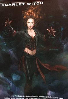 Scarlet Witch Concept Art 3  by EngineGear
