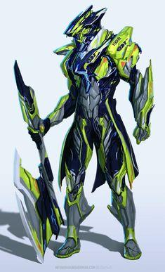 Robot Concept Art, Armor Concept, Weapon Concept Art, Fantasy Character Design, Character Design Inspiration, Character Art, Fantasy Armor, Dark Fantasy Art, Warframe Art