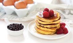 Pancake al latte condensato con...