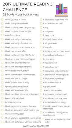 A Book a Week List