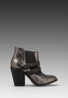 KELSI DAGGER Jalynn Bootie in Pewter/Black at Revolve Clothing - Free Shipping!
