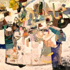 "Saatchi Art Artist Todd Clark; Painting, ""Shine Through"" #art"