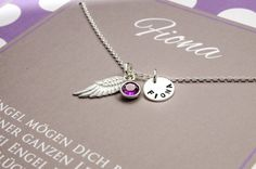 Other Fine Necklaces, Pendants Radient Infinity Schleife Familie Gravur Armband ♥ Kette Auswahl Monatsstein 925 Silber