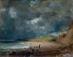 John Constable - Weymouth Bay (1816)
