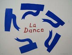 Nieuw in de collectie van Excellent Art.   Houtdruk gesigneerd van Klaas Gubbels. Titel: La Dance   Afmetingen: 65 x 50 cm incl. wit essen (Gubbels) lijst.
