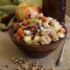 Sweet Potato Quinoa Salad HealthyAperture.com