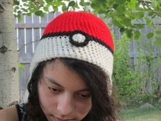 Pokeball hat for sale on Etsy for $10 :D