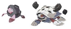 Fakemon Pokemon Chelonite and Galaxagos- If anyone knows the artist, their name and a link would be appreciated