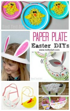 Paper Plate Easter C