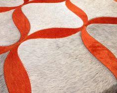 Hair on Hide rug - Vaheed Taheri Rugs On Carpet, Carpets, Orange Rugs, Cadiz, Cow Hide Rug, Contemporary Furniture, Textiles, Kids Rugs, Flooring